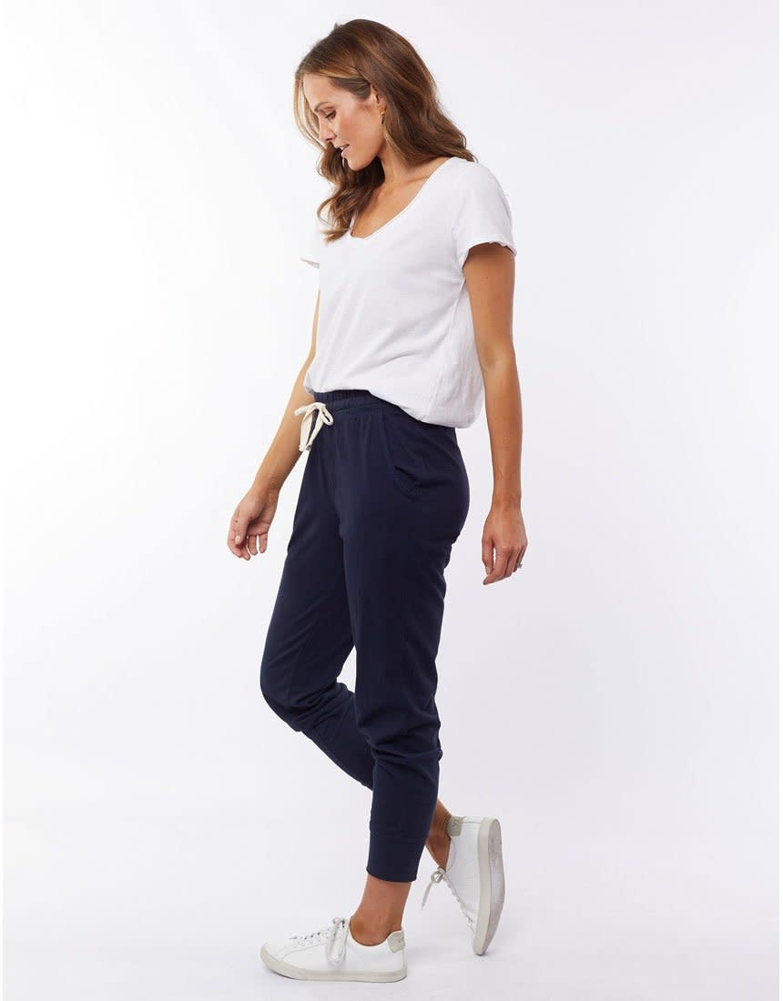 Elm Wash Out Pant Navy