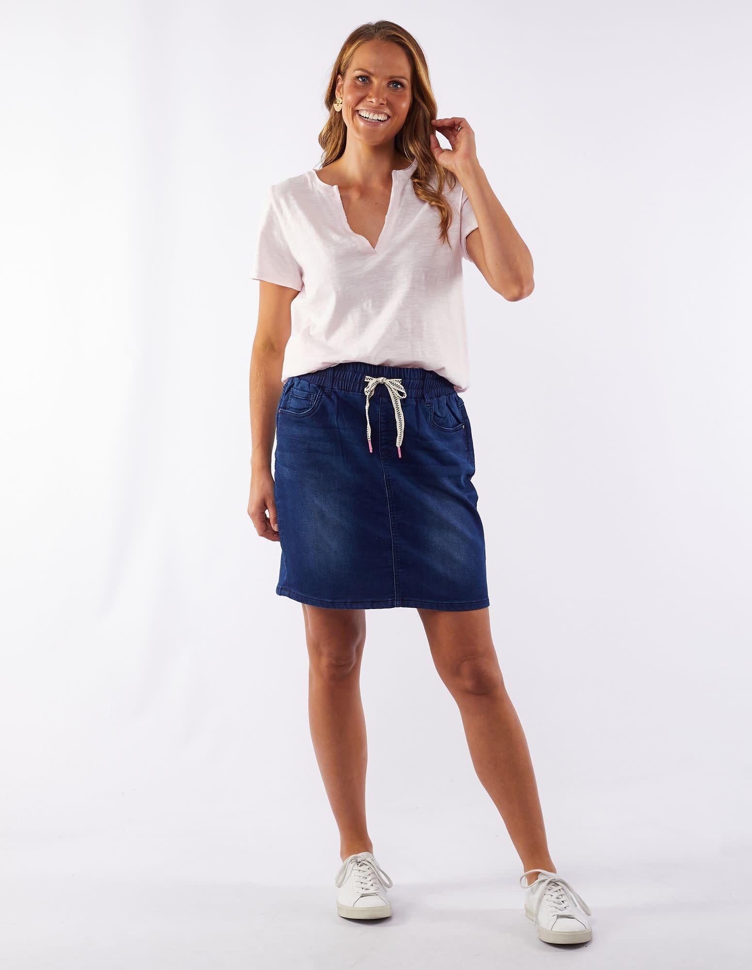 Elm Status Denim Skirt