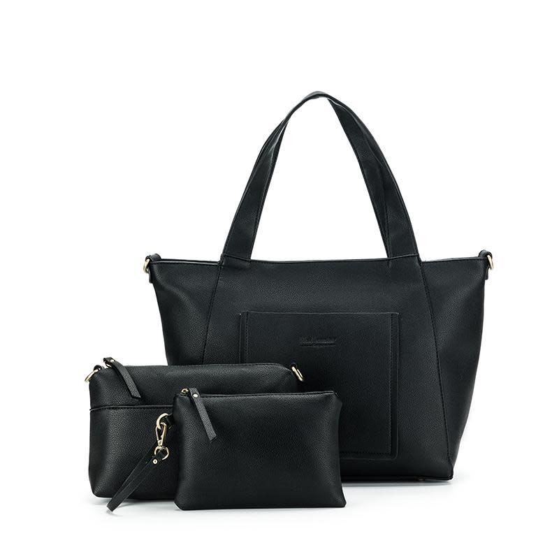 Black Caviar Ryder Set 3 Bags Black