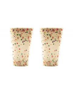 Urban Products Confetti Eco Cups Set 2