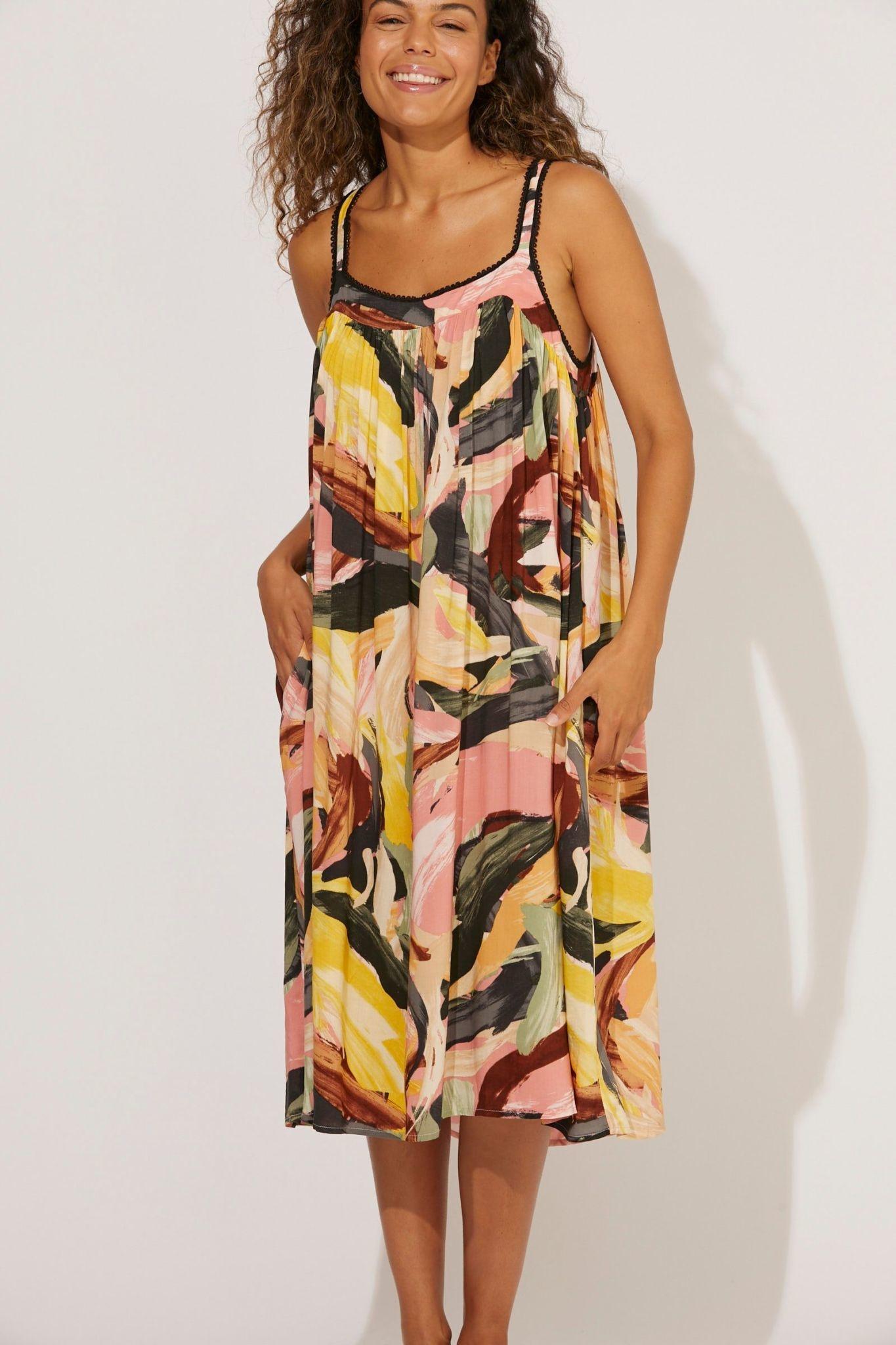 Haven Madagascar Tank Dress