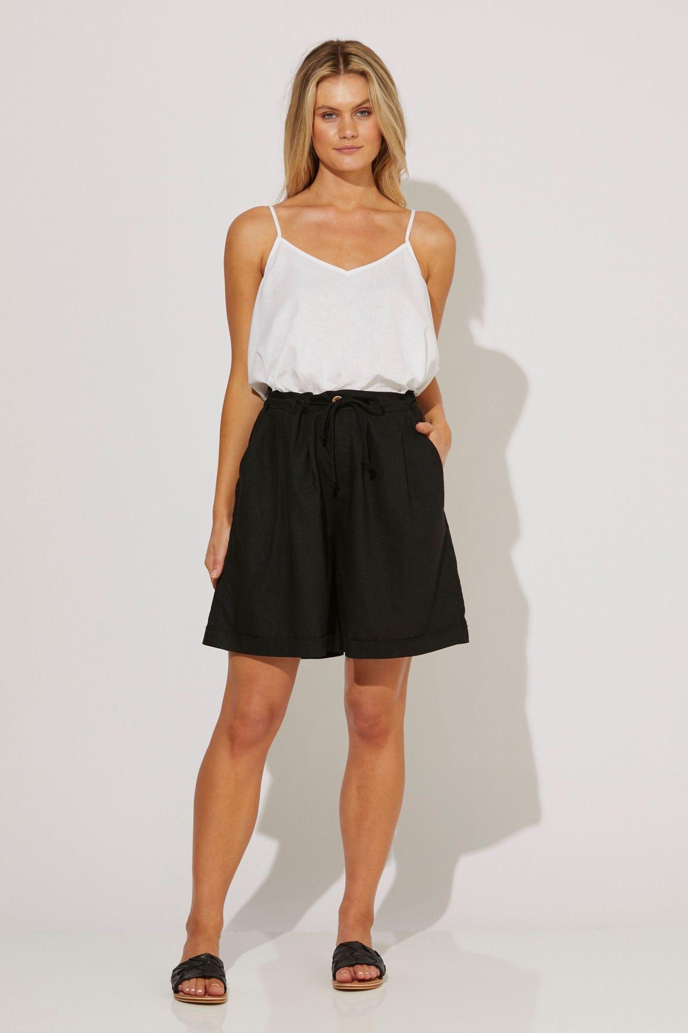Haven Nevis Bermuda Short Black