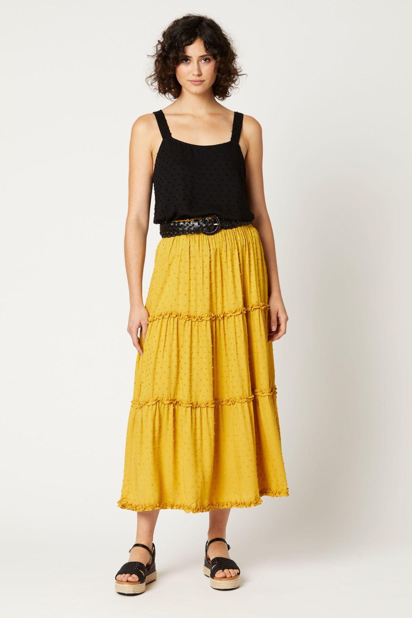 Eb & Ive Jungle Maxi Skirt