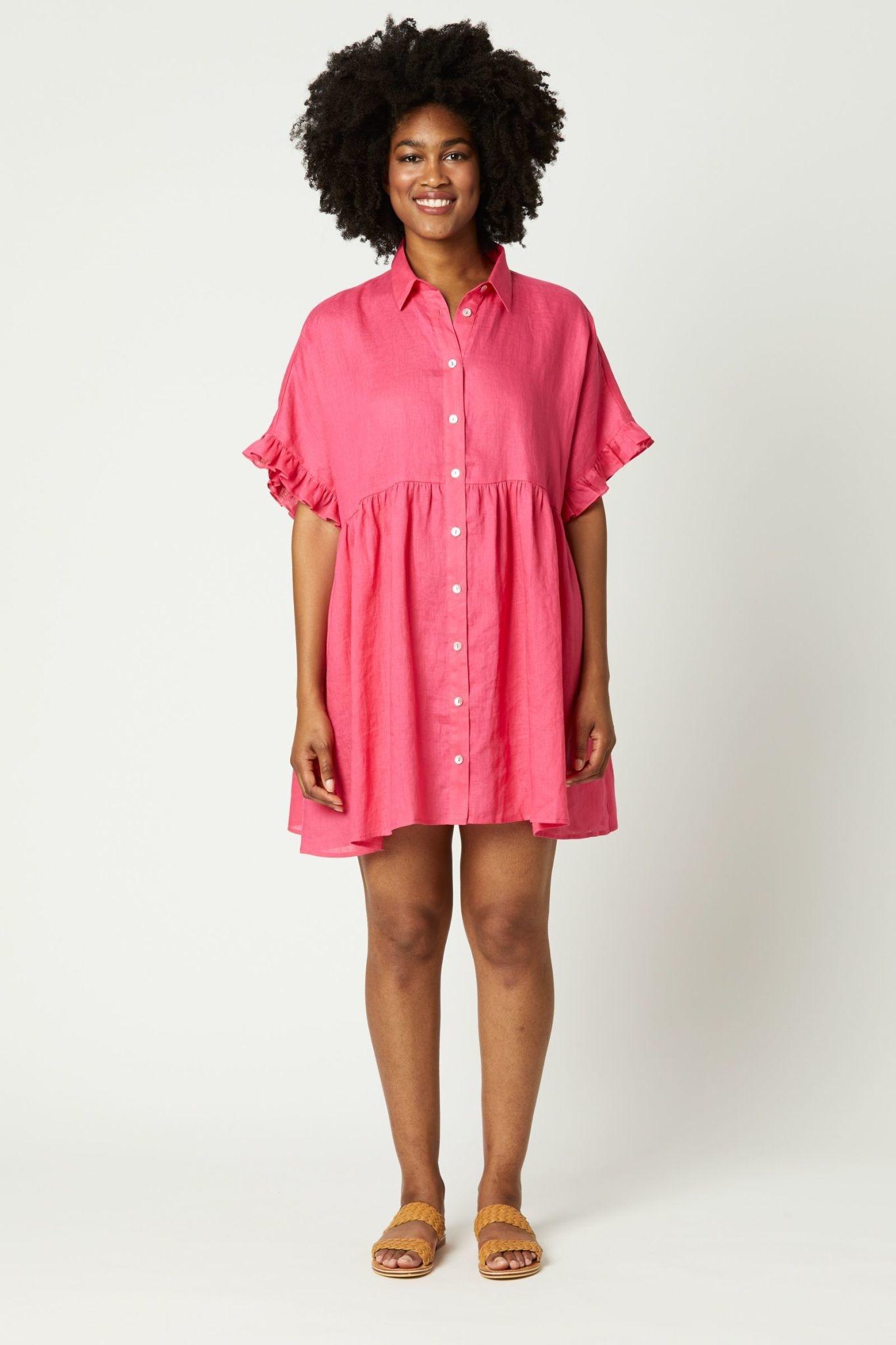 Eb & Ive Nala Shirt Top/Dress OS
