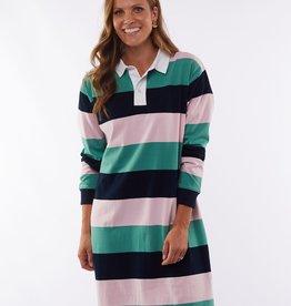 Elm Imogen Stripe Rugby Dress