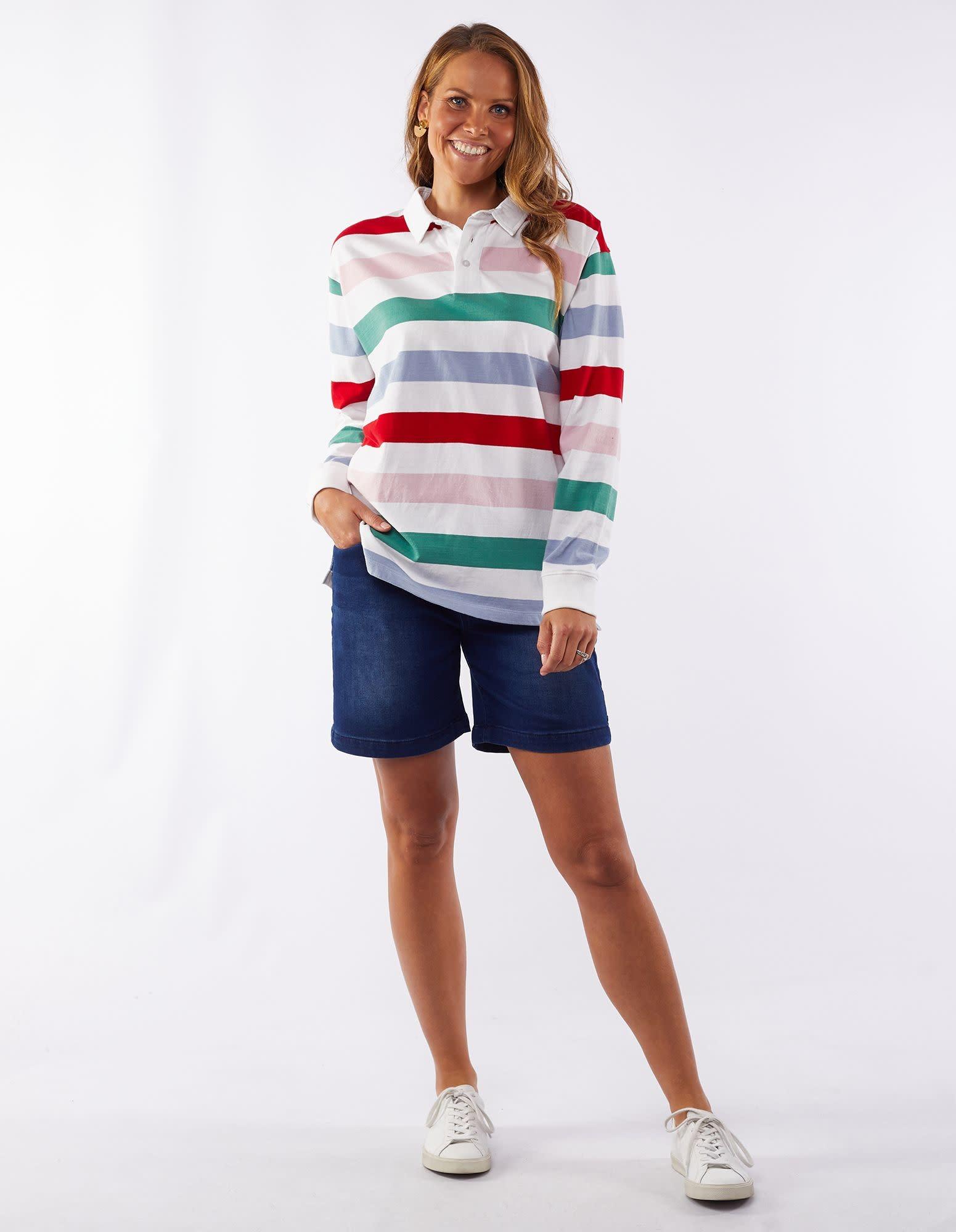 Elm Catherine Stripe Rugby Jumper