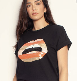 The Others The Relaxed Tee - w/ Stripe Lips
