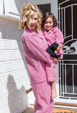Linens Unlimited Red Check PJ Set