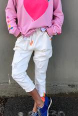 Cat Hammill Spring White Jean