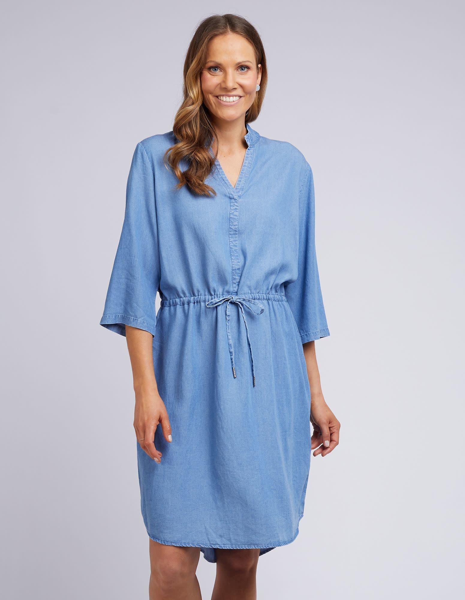 Elm Chelsie Chambray Dress