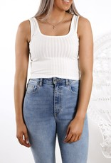 All About Eve Revival Square Neck Top