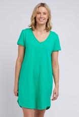 Elm Mary Textured Tee Dress