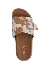 Nude Shoes Pearl Slide