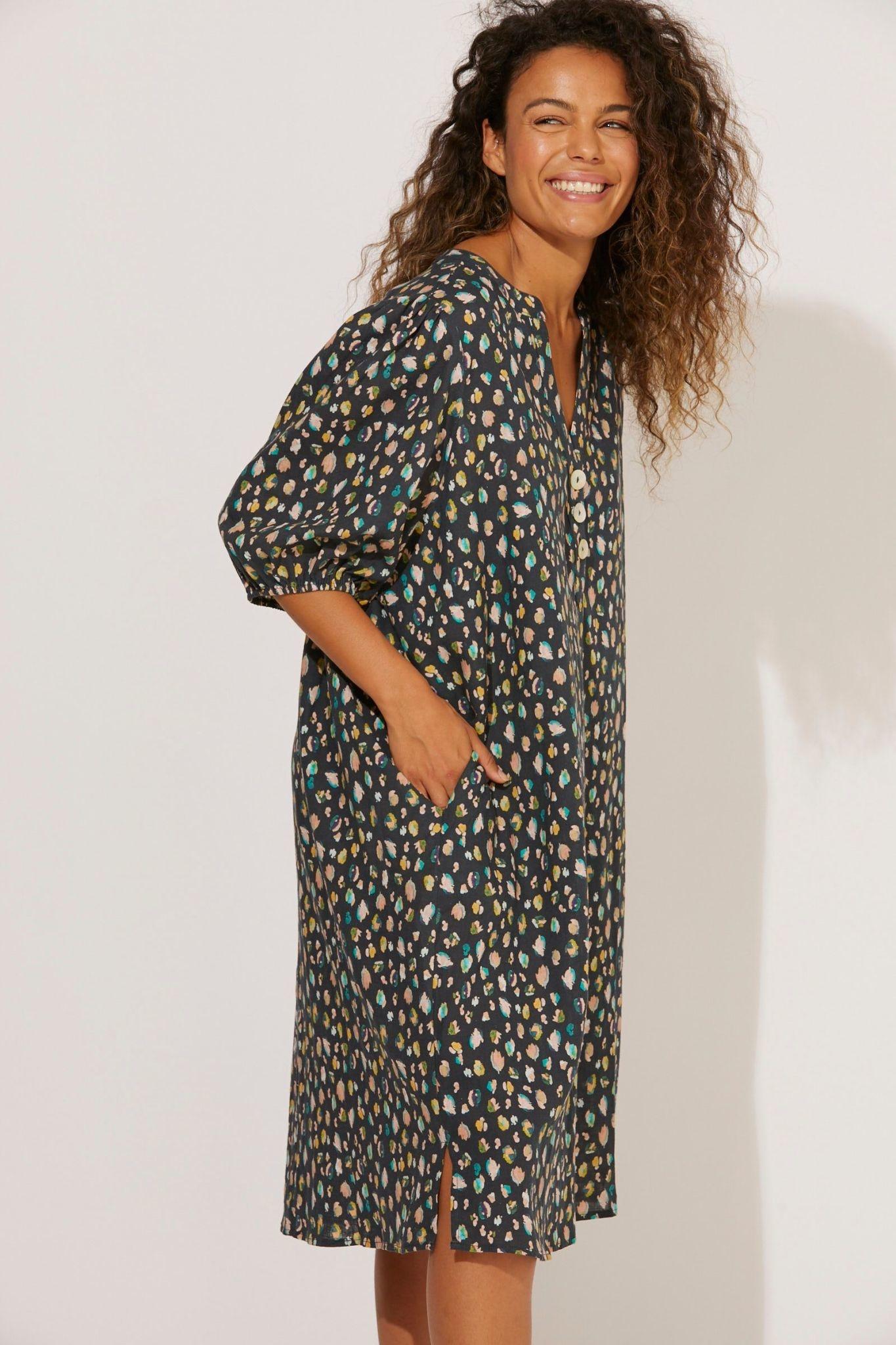 Haven Cabana Shirt Dress OS