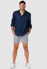 Vacay Linen Shirt Navy