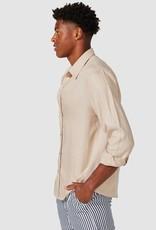 Vacay Linen Shirt Beige
