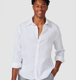 Vacay Linen Shirt White