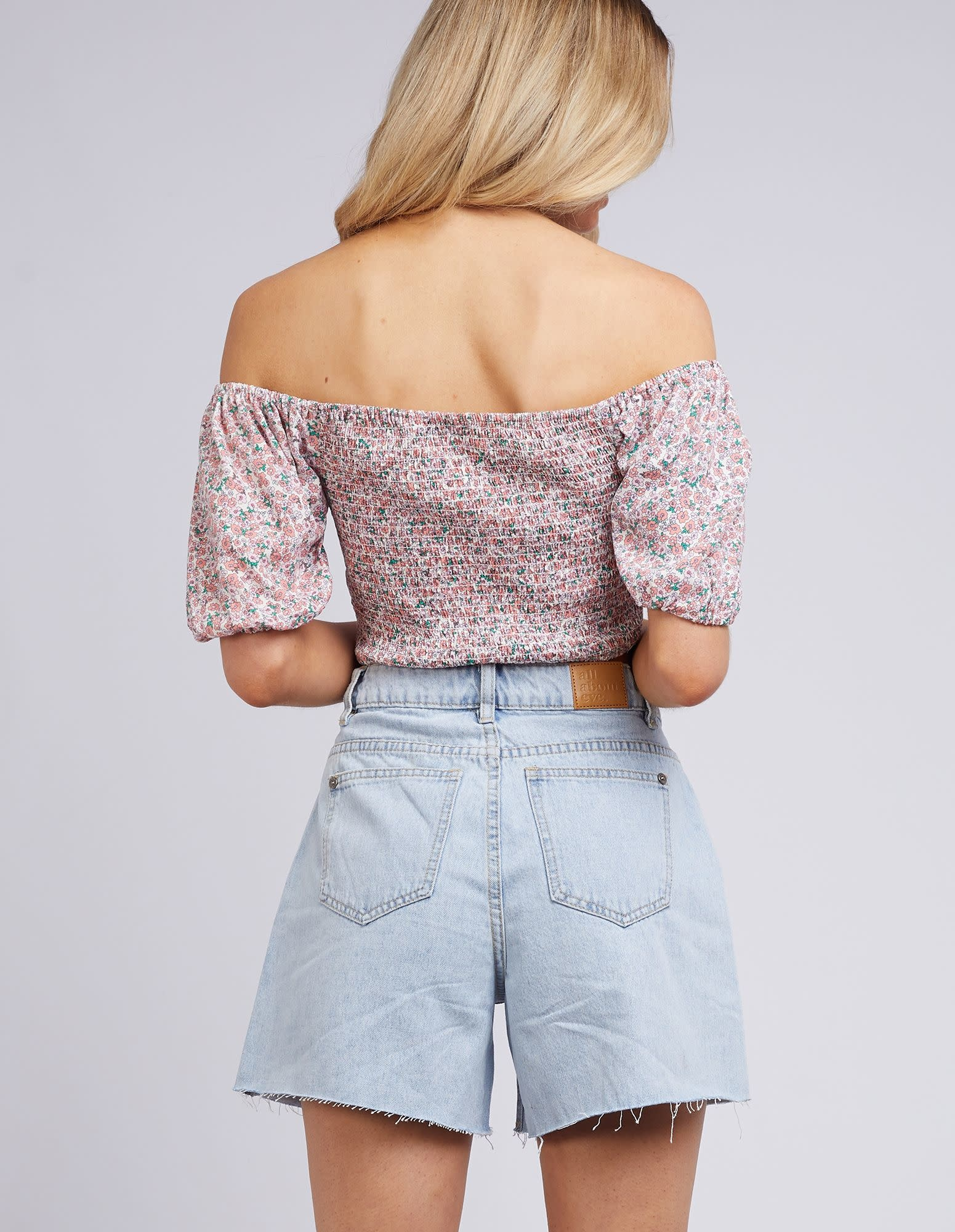 All About Eve Rosa top