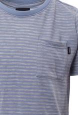 St Goliath Pocket Stripe Tee Light Blue