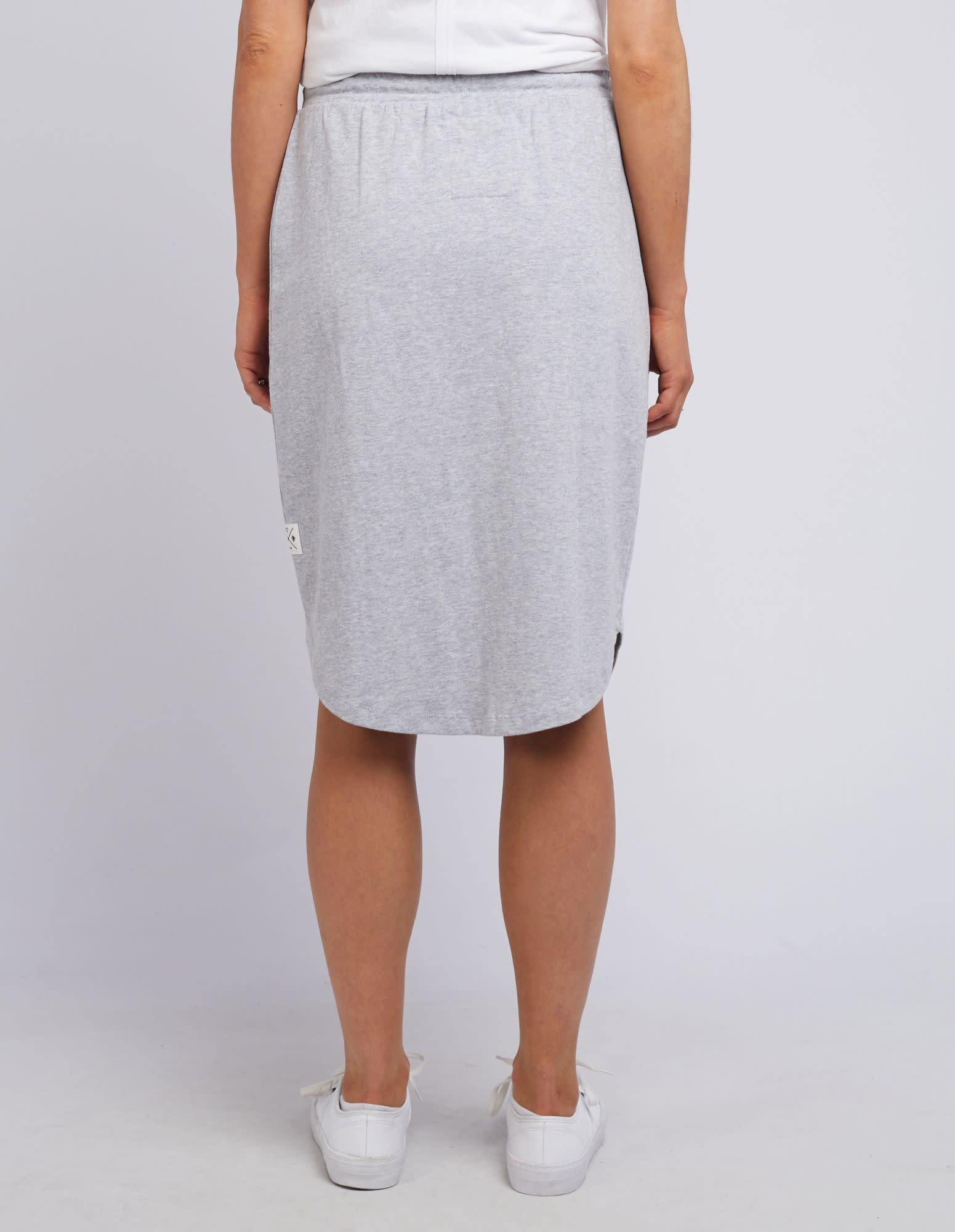 Elm Isla Skirt (Grey Marle)