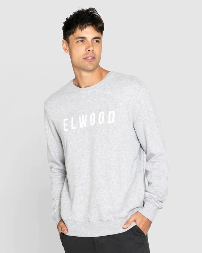 Elwood Huff N Puff Crew Grey Marle