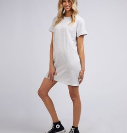 All About Eve AAE Washed Tee Dress (Snow)