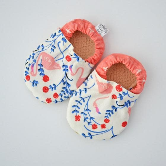 Baby Booties Flamingo 0-3 Months