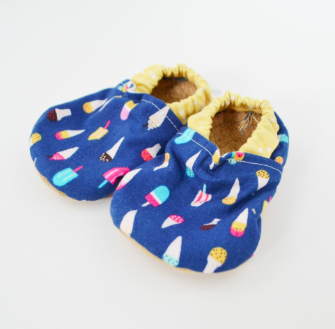 Baby Booties Ice Cream 0-3 Months