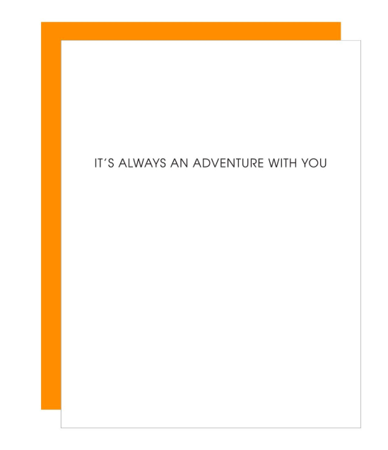 Chez Gagne Always and Adventure Card