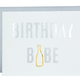 Chez Gagne Birthday Babe Paper Clip Card