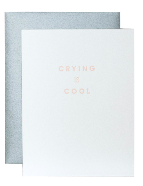 Chez Gagne Crying is Cool Card