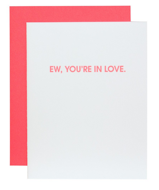 Chez Gagne Ew, You're In Love Card