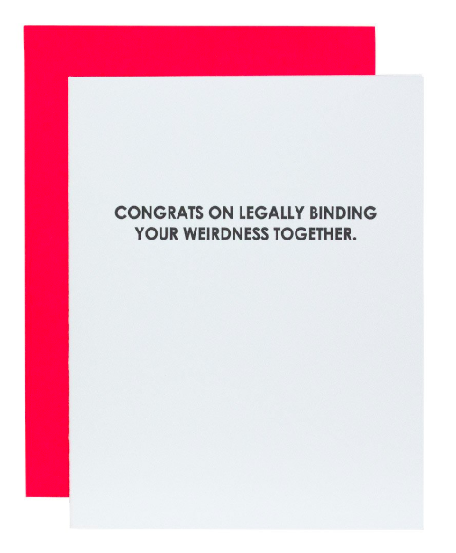 Chez Gagne Legally Binding Card