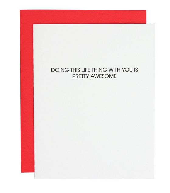 Chez Gagne Life Thing With You Card