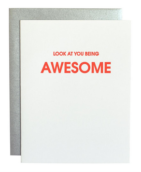 Chez Gagne Look At You Being Awesome Card