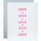 Chez Gagne Love is Love Card