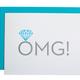 Chez Gagne OMG Engagement Card