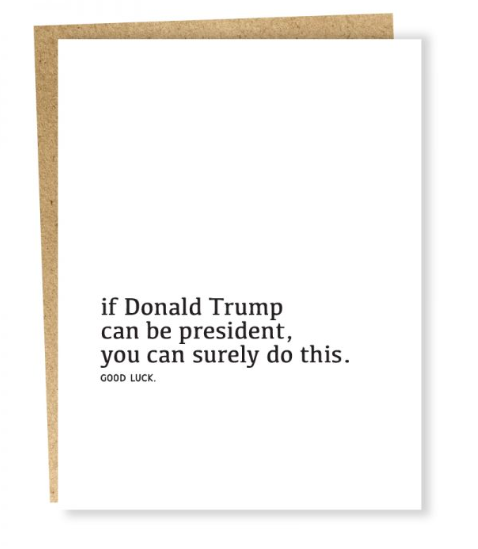 Well Wishes: President Card