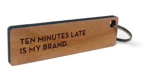 Key Tag - Ten Minutes