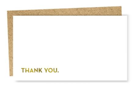 Mini Card - Thank You
