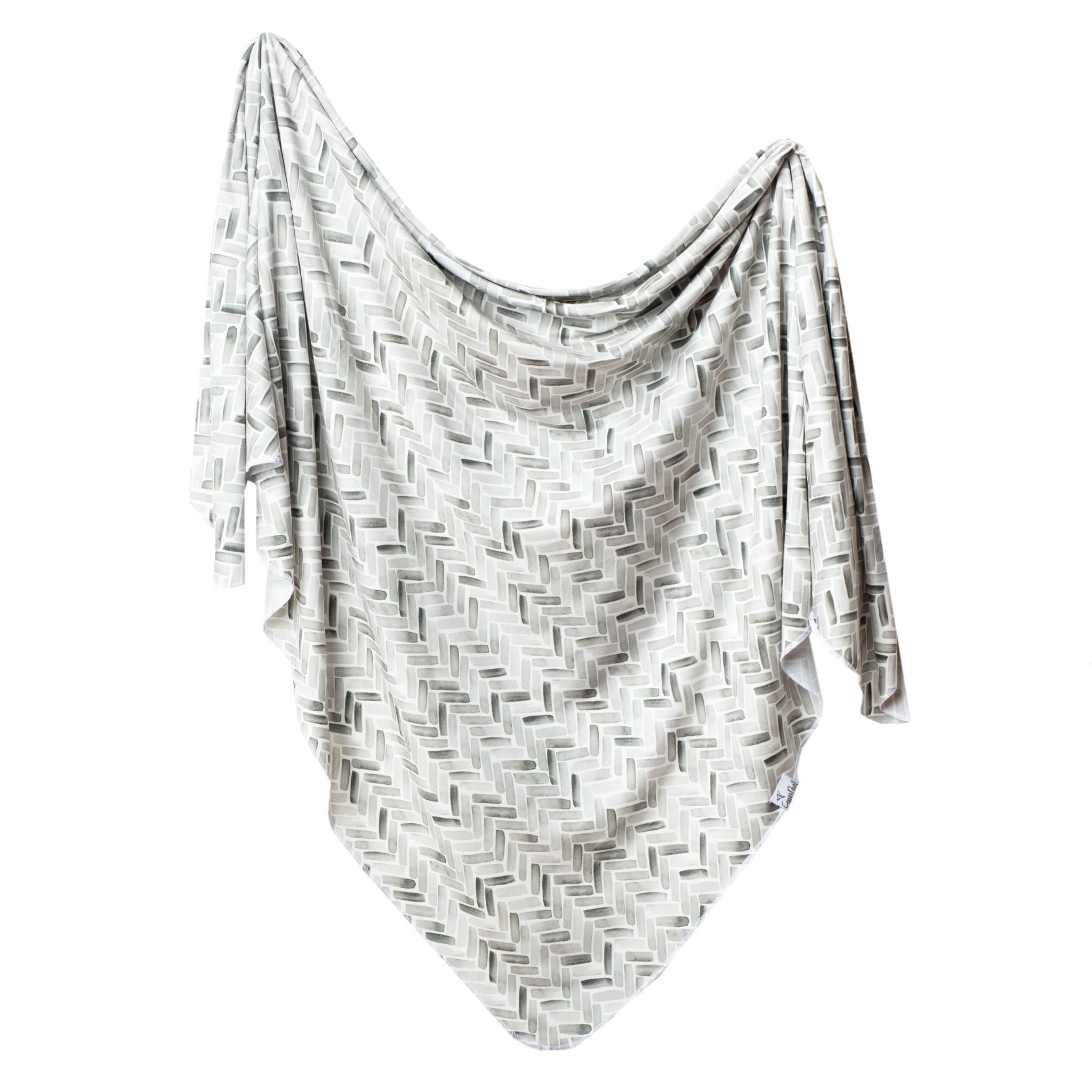 Copper Pearl Knit Swaddle Blanket - Alta