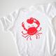Exit343Design Crab Friend Onesie - 6 Months