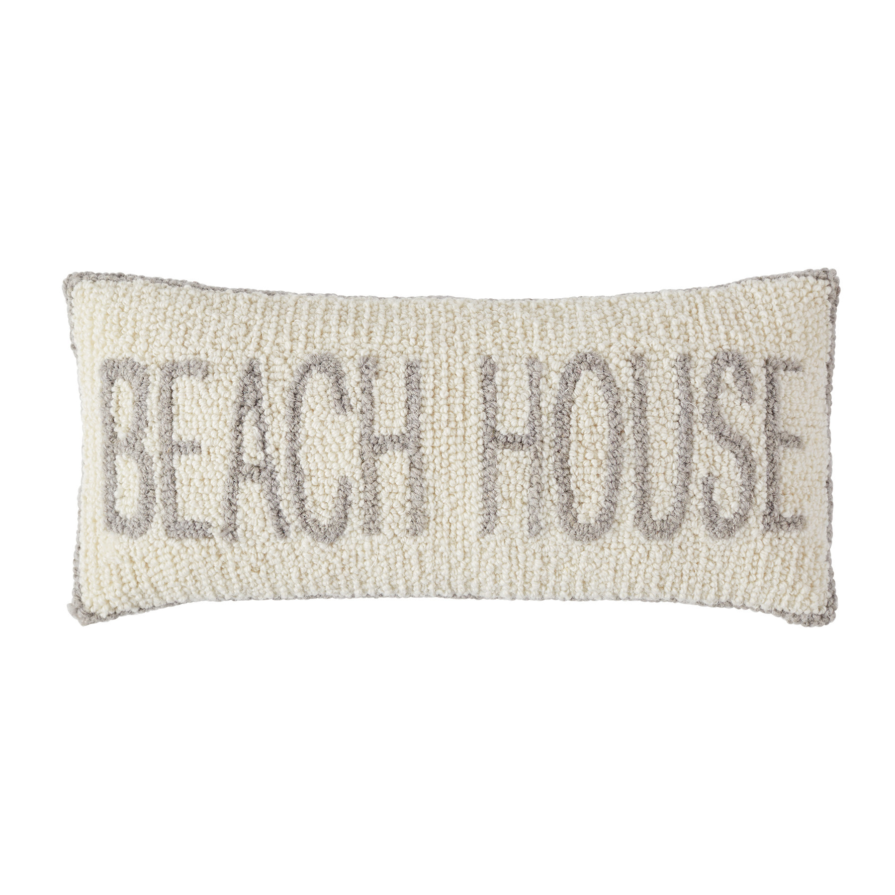 BEACH HOUSE HOOKED WOOL