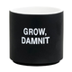 About Face Designs Grow, Dammit Planter