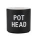 About Face Designs Pot Head Planter