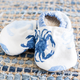 Two Little Beans Baby Booties Blue Crab 0-3 Months