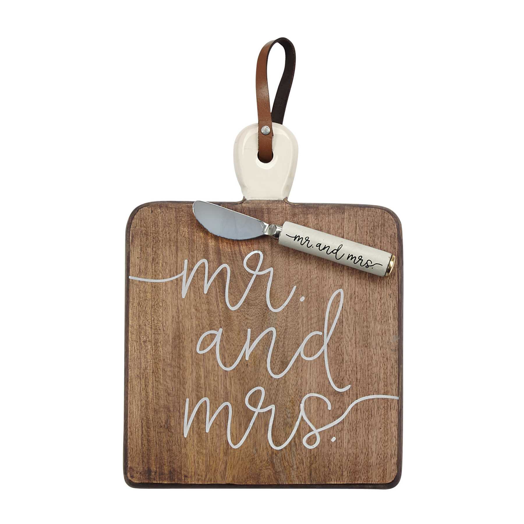 Mudpie MR AND MRS BOARD SET