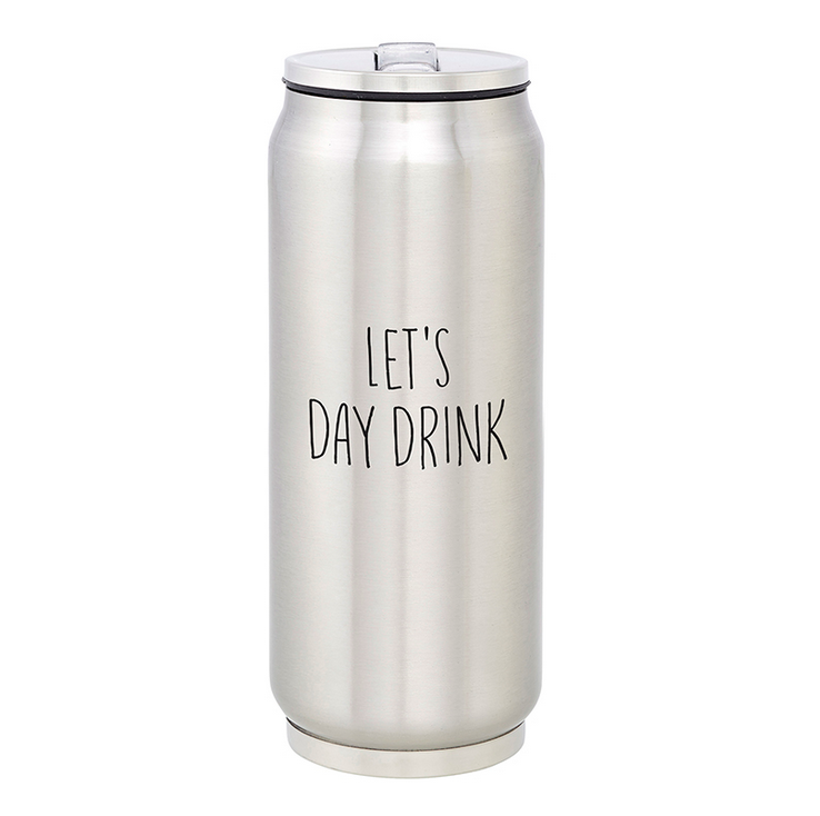 Creative Brands Stainless Steel Can - Day Drinking