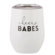 Creative Brands 12 oz Tumbler - Cheers Babes