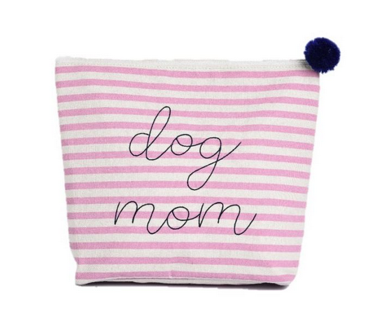 Large Cosmetic Bag - Dog Mom